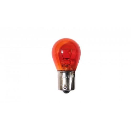 Auto lampa S25 12V 21W BAU15S sarkana