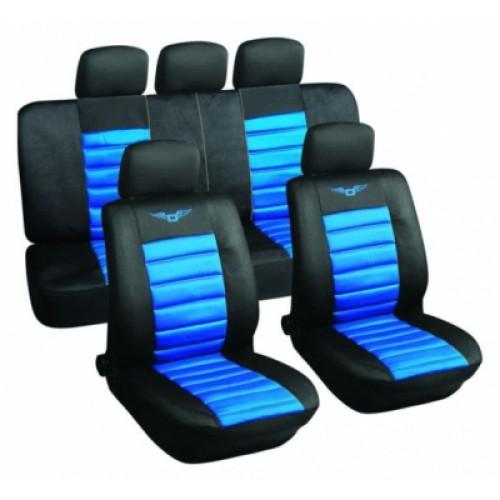 Sēdekļu pārvalki D zili